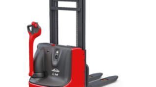 The L14C pallet stacker from Linde Material Handling