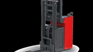 The Linde electric pallet stacker L14–L16R