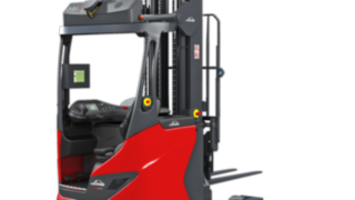 The autonomous R-MATIC reach truck from Linde Material Handling