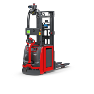 The Linde Material Handling L-MATIC HD automated pallet stacker