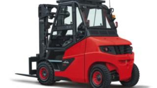 The Linde Material Handling e-truck E60–E80