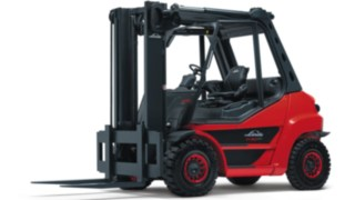 The Linde Material Handling IC truck H50 - H80 EVO