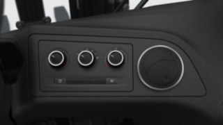 Air-conditioning system for the Linde H20–H35 truck