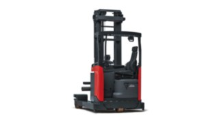 The Linde reach truck R20 – R25 F