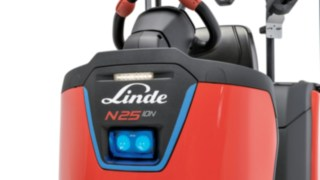 The BlueSpot™ from Linde Material Handling for the N20 order pickers