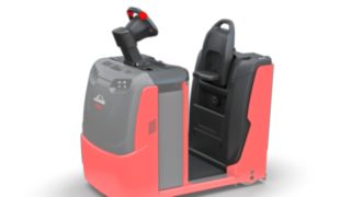 The suspension of the operator's platform of the P40–P60 C from Linde Material Handling protects the operator against vibrations and shocks.