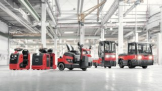 Tow tractors and platform trucks from Linde Material Handling