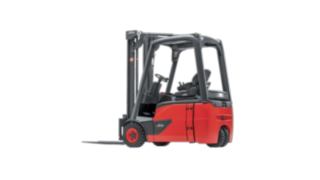 Linde E12 - E20 EVO electric three-wheel forklift truck