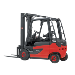 Linde E20–E35 series electric forklift truck