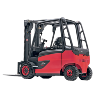 The E35–E50 electric truck from Linde
