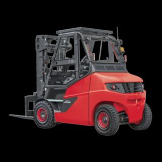 The Linde Material Handling E truck E60 - E80