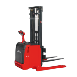 The Linde Material Handling pedestrian pallet stacker and double stacker L14 – L16 AS AP/AS