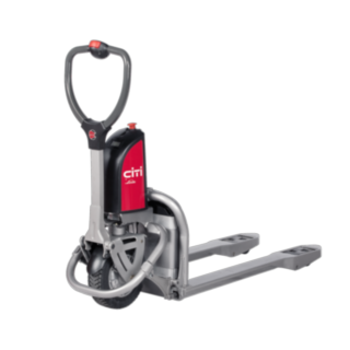 The Linde CiTi one electric hand pallet truck