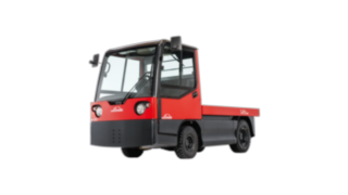 The Linde Material Handling electric tow tractor W20