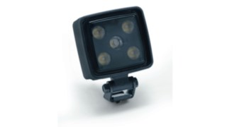 The image shows the optionally available LED work headlamps