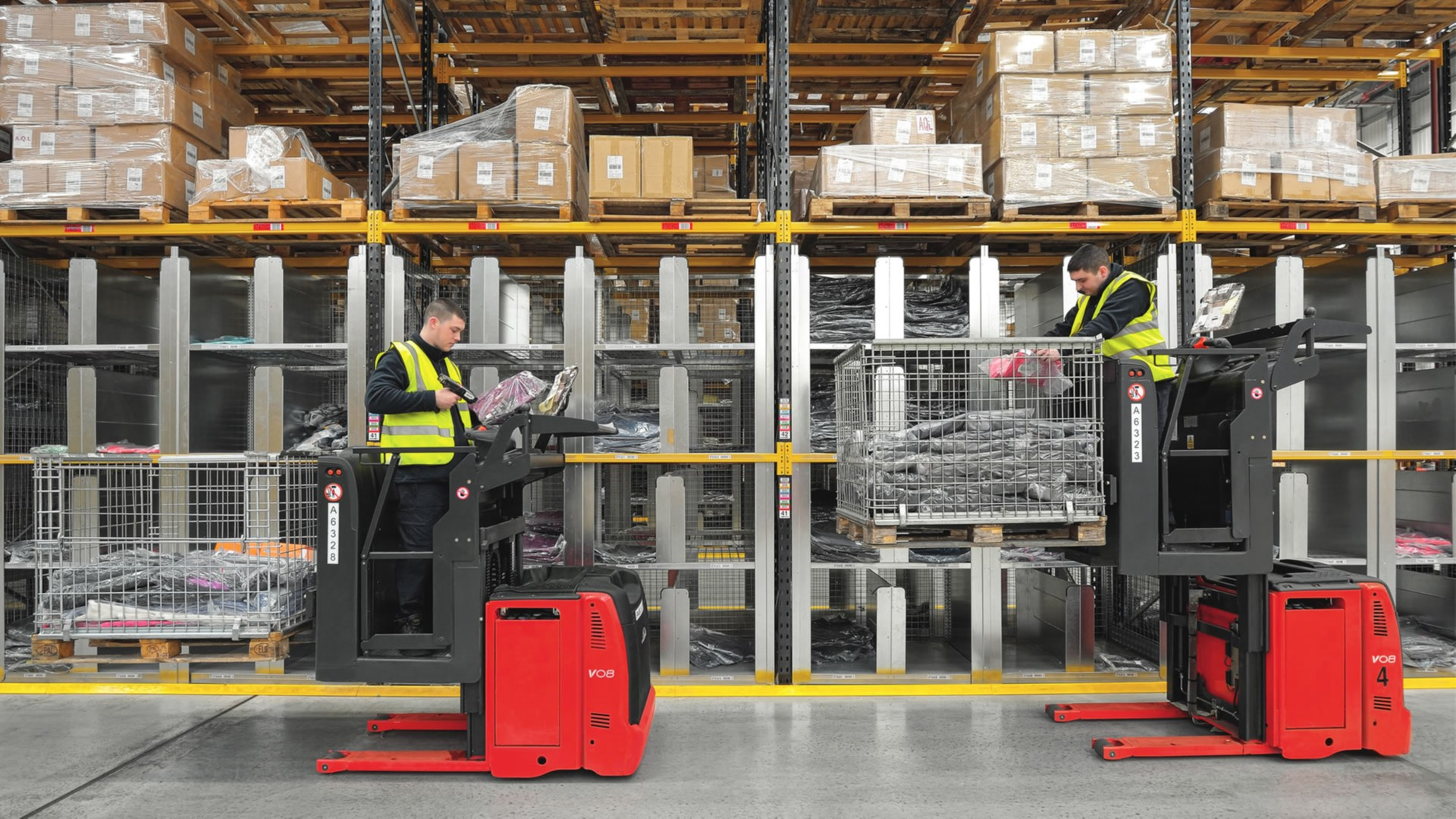 Order Pickers From Linde Material Handling
