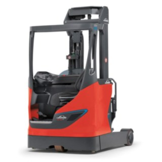 Reach truck R14 by Linde with lithium-ion battery