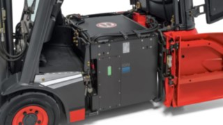 Linde Li-ION battery in a Linde e forklift