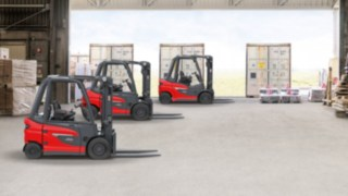 Trucks from the new counterbalanced forklift truck platform from Linde Material Handling