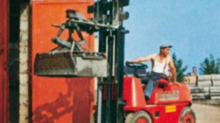 The first forklift truck from Linde Material Handling – the Hubtrac