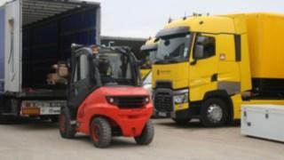 Linde MH IC truck, Renault Formula 1