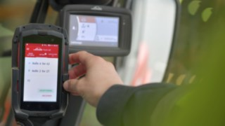 The Linde Truck Call app in use