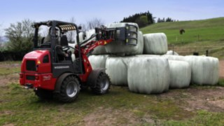 Weidemann eHoftrac® with drive technology from Linde electric forklift trucks