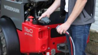 As charging technology, Weidemann deploys a 48-volt lead battery