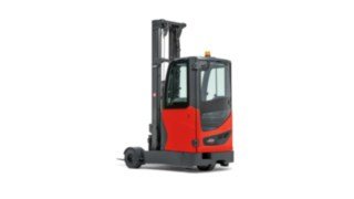 Reach trucks with super-elastic tyres from Linde Material Handling in the 1.4 to 2-tonne load category