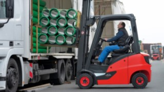 Diesel, LPG and CNG forklift trucks Linde H14 to H20 EVO