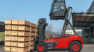 Elevating cabin latest addition to Linde Material Handling's range of safety products