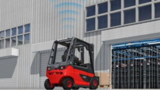 Increased safety with Linde SpeedAssist driver assistance system