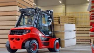 Diesel and LPG forklifts Linde H50-H80 complete EVO series