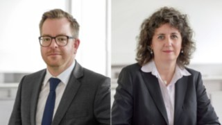 Matthias Kluckert and Monika Laurent-Junge strengthen Communications Team