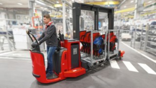 New concept for efficient production logistics: Trolley Supply Truck