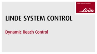 Video about the Linde Material Handling Dynamic Reach Control