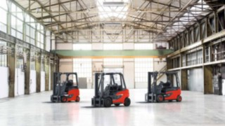 Forklift trucks from Linde Material Handling are the number one choice for intralogistics.