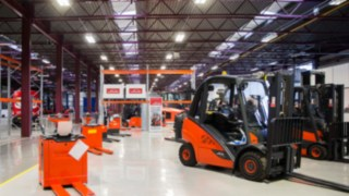 Linde Material Handling (UK) Ltd has opened a new depot in Wellingborough