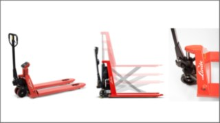 5% discount on all Linde hand pallet trucks